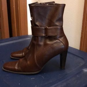 Women's Brown Booties Size 8